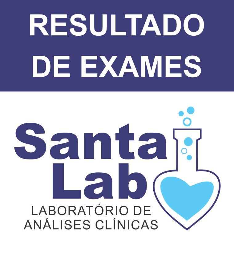 Resultados de Exames realizados no Santa Lab